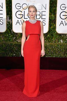 Les plus belles tenues des Golden Globes 2016 - Jennifer Lawrence