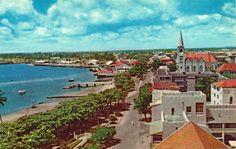 View of Dar-es-Salaam Tanganyika 1970s