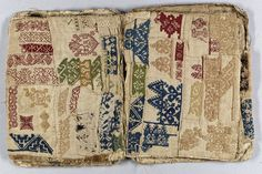 17th century needlework sample book