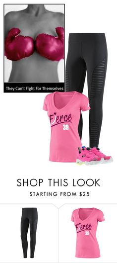 """""""Fight!!!"""" by ksims-1 ❤ liked on Polyvore featuring Reebok"""