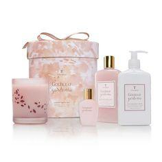 Goldleaf Gardenia Luxury Bath Set #mothersdaygift #goldleafperfume #mom #motherday #shoplocal #thepinkchalet