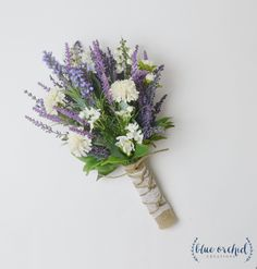 Small Wildflower Bouquet, Lavender Bouquet, Boho Wedding Bouquet, Wildflower Bouquet, Wildflower Wedding Bouquet, Silk Wildflower Bouquet by blueorchidcreations on Etsy