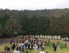 Onsite ceremonies at Farm Vigano