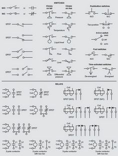 circuit schematic symbols | circuit diagrams symbols | electrical ...
