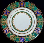 Russian Imperial Porcelain Plates for Sale
