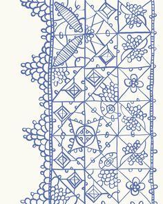 Renaissance lace.