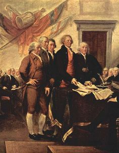 Committee of Five who created the Declaration of Independence: John Adams, Robert Sherman, Robert R. Livingston, Thomas Jefferson, and Benjamin Franklin. American History Lessons, Us History, African American History, History Facts, History Timeline, History Photos, Ancient History, American Presidents, American War
