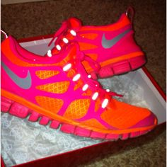 My custom Nike I.D. Running shoes :) Just saw these Friday. I WANT THEM ALL! Surely I'd be more inspired to start running again if I had super cute shoes to run IN right?? Awesome pair for #womens #Sneakers $48 at #womens2014 com