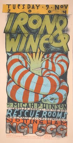GigPosters.com - Iron And Wine - Micah P. Hinson
