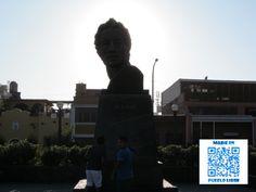 Retrato de Bolívar, Plaza Bolívar.