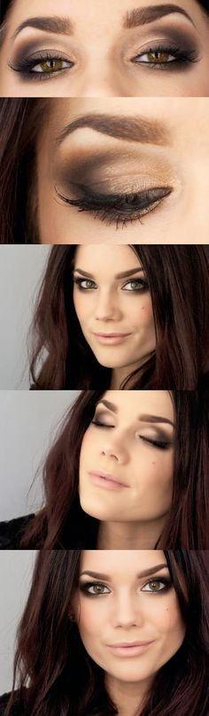 Todays Look Inspired by Mila Kunis ~ Linda Hallberg, makeup artist Visit my site Real Techniques brushes makeup -$10 http://youtu.be/a1K1LTTa8AU