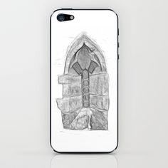 Medieval Church Window iPhone & iPod Skin by Rainer Steinke - $15.00 church window drawing pencil bleistift zeichnung fenster kirche mittelalter medieval #church #window #drawing #pencil #bleistift #zeichnung #fenster #kirche #mittelalter #medieval