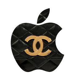 """Humor Chic Luxury & Technology - Apple Ceo Tim Cook and Apple's new Vice President Paul Deneve """"Happy Apple fashion line"""" by aleXsandro Palombo Coco Chanel, Chanel Logo, Chanel Fashion, Fashion Line, Chanel Makeup, Luxe Life, Perfume, Girly, Chic"""