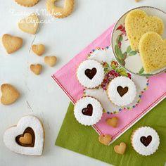 Galletas rellenas de fresa y chocolate ...para San Valentín | tartas y nubes de azúcar