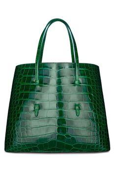Amazing Azzedine Alaïa. Crocodile Tote Bag