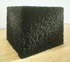 'Densely black and light-absorbing, Mona Hatoum's sculpture Socle du Monde Art In The Age, Art Gallery Of Ontario, Installation Art, Art Installations, Art Of Living, Box Art, Light In The Dark, Sculpture Art, Contemporary Art