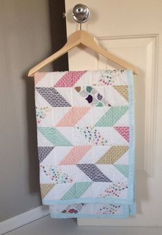 Hey, I found this really awesome Etsy listing at https://www.etsy.com/listing/186130381/custom-modern-baby-quilt-made-to-order