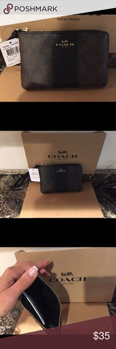Coach Wrislet Brand new with tags!!! Coach Bags Clutches & Wristlets