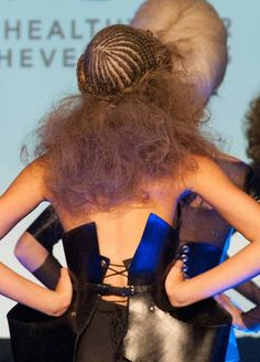 Hair from West Coast Beauty's Meange A Trois by David Glover for Kevin.Murphy! See more at SalonMagazine.ca!