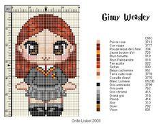 Chose promise chose due, voici Miss Weasley en chair et en os en fils et en croix ! (cliquez sur la grille pour l'afficher en grand,...