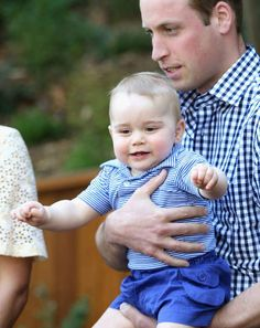 I do like smiling to show off my two new teeth... | The Official Ranking Of Prince George's Best Facial Expressions