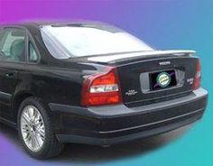 Unpainted 1999-2007 Volvo S80 Spoiler Custom Style