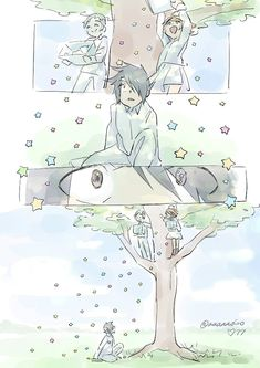 This is adorable Fanarts Anime, Anime Characters, Manga Anime, Anime Art, Kagerou Project, Precious Children, Animes Wallpapers, Love Stars, Neverland