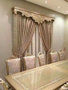 - # Elegant Curtains, Modern Curtains, Colorful Curtains, Curtain Designs For Bedroom, Drapery Designs, Living Room Decor Curtains, Home Curtains, Curtain Pelmet, Cornice