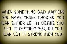 I choose strengthen