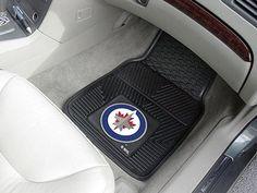 NHL - Winnipeg Jets 2-pc Vinyl Car Mat Set