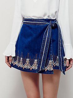 ∞ Dream Away Denim Mini