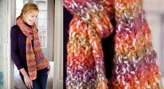écharpe avec col intégré © Katia