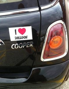 I heart Sheldon Cooper-Big Bang Theory
