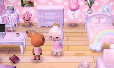 Buen dormitorio Buen dormitorio Best Picture For acnl house ideas For Your Taste You are looking . Animal Crossing Pocket Camp, Animal Crossing Qr, The Legend Of Zelda, Kingdom Hearts, Motif Acnl, Ac New Leaf, Pastel Room, Happy Home Designer, House Ideas