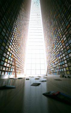 tadao ando shiba ryotaro memorial museum - Google Search