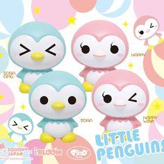 Ibloom Little Penguins super squishies ~ scented like bubblegum 25.50$
