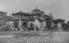 Pan-American Exposition, 1901, Machinery and Transportation Building