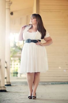 Keri Atkins #PlusSize #dress #fashion #bbw #curvy #woman