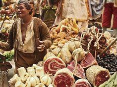 San Gregorio Armeno #Napoli venditore ambulante