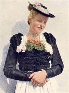 Das Hochzeits- oder Schalkgewand aus Miesbach