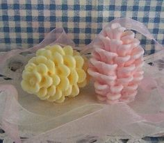 Pinecone Life Like Silicone Soap Mold Candle Mold by grandhorse