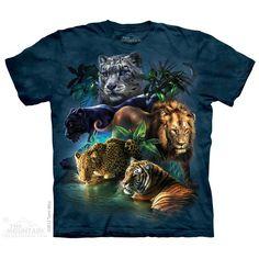 The Mountain Big Jungle Cats T-Shirt