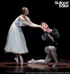 Alicia Amatriain and Friedemann Vogel, «Giselle Male Ballet Dancers, Ragamuffin, Senior Project, Carpe Diem, Poses, Statue, Drawing, Ballerinas, Dance