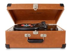 Traveler 3 Speed Turntable with Stereo Speakers and Adjustable Tone Control #Crosley