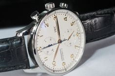 We're obsessed with all angles of this preowned #IWC!