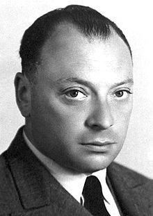 Wolfgang Pauli, one of the pioneers of quantum physics.