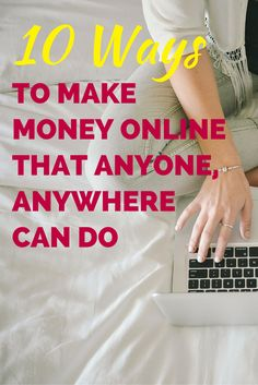 Must read! Awesome list of ways to make money online!