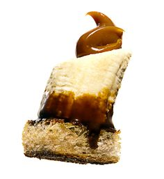 Banana and Toast with Coffee and Dulce de Leche by thebitesizedblog #Banana #Dulce_de_Leche