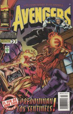 Avengers - predominan los sentinels