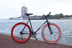 Vydz 'Black Pearl' single speed bike - Vydz